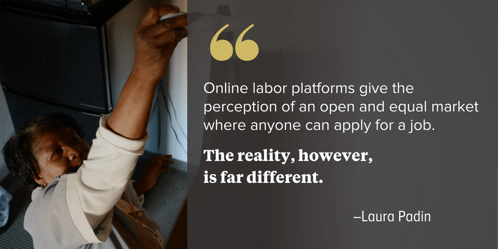 New Report Highlights Discrimination Issues in Online Platforms - National Employment Law Project